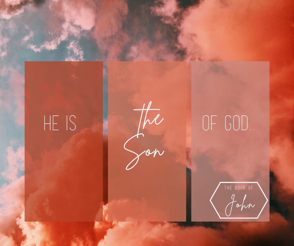 He is the Son of God